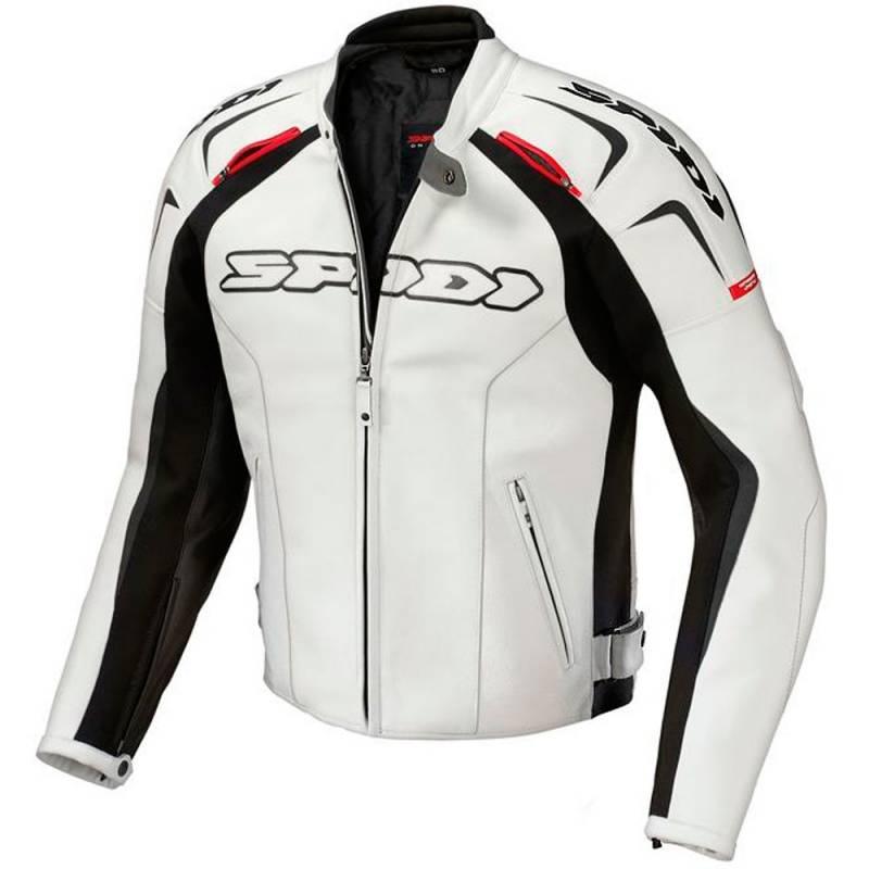 Blanco Leather Spidi Beatbikers Jacket Chaqueta Track 6TPxWOO