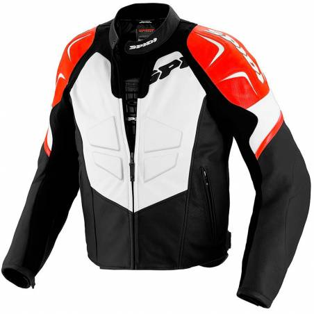 CHAQUETA SPIDI TRK EVO LEATHER JACKET ROJA