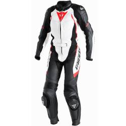 MONO DAINESE AVRO D1 LADY DIVISIBLE BLANCO/ROJO